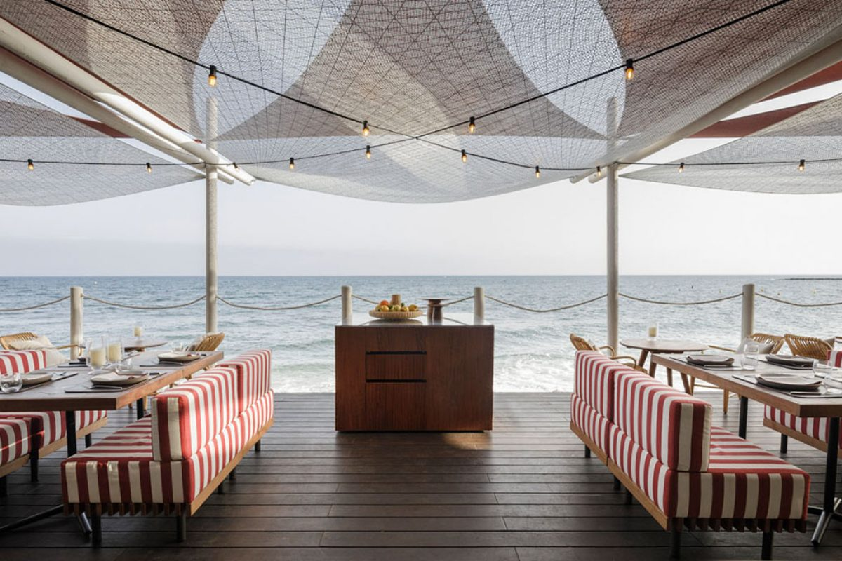 Isabel López Vilalta turns around to the Soleo Marbella Beach Club restaurant with contemporary maritime and nautical flavours