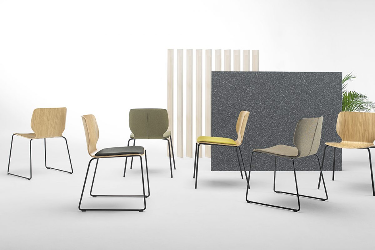 NIM seating collection by Yonoh Studio for Inclass. An enveloping, friendly and elegant design