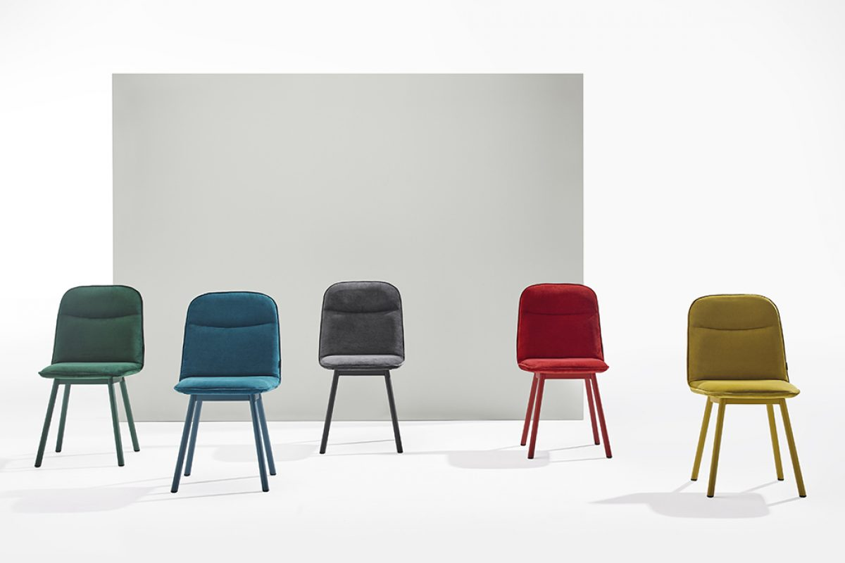 Köln by Yonoh for Mobliberica. A functional chair that prioritizes comfort