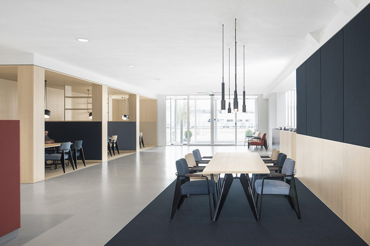 i29 interior architects projected the new BKR workplace. Social design for contemporary consumers