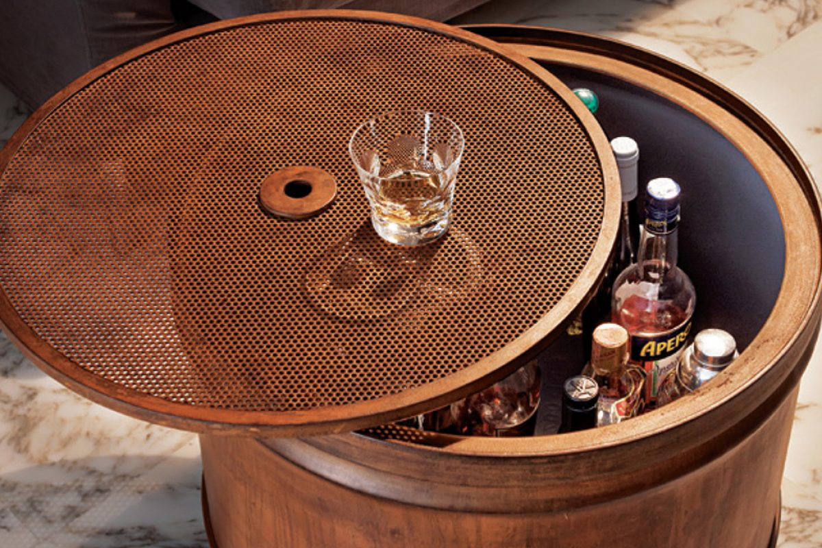 Barrel12: Francesca Cutini recycled barrels and turn them in functional sustainable furniture pieces