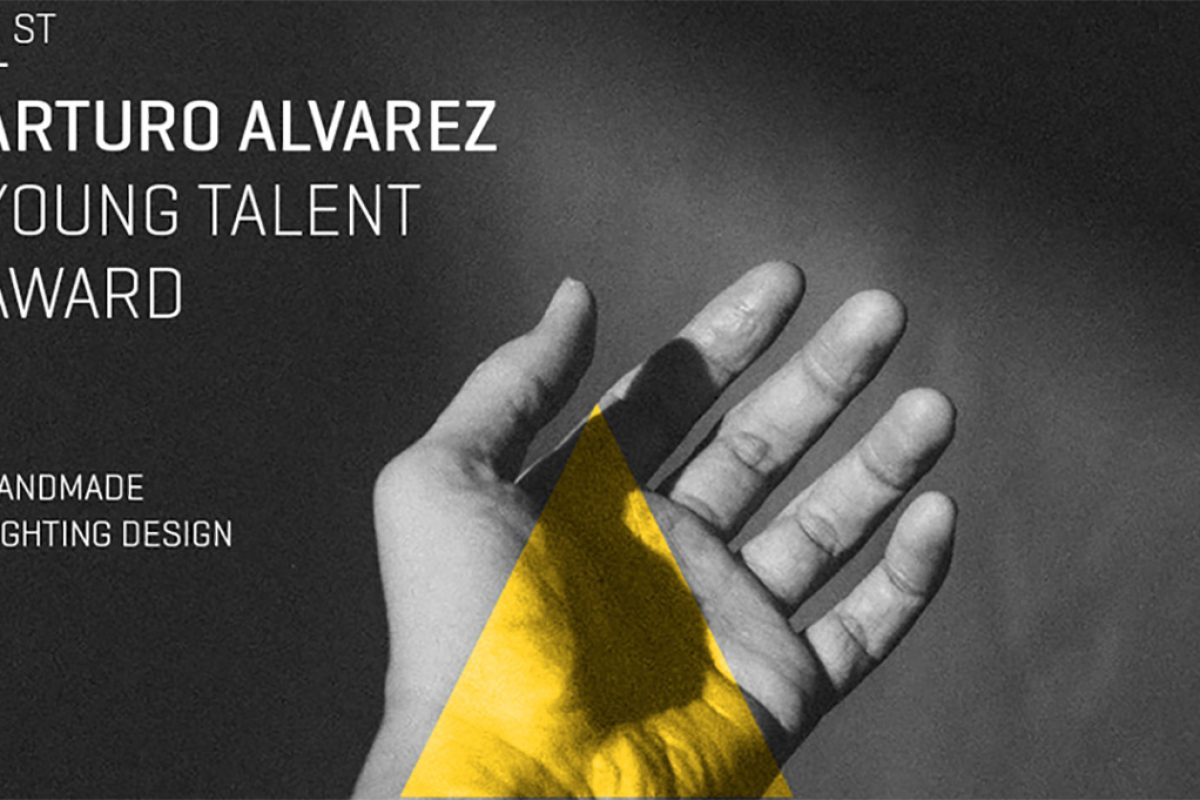 Call for entries for the 1st. Arturo Alvarez Young Talent Award. Handmade lighting design