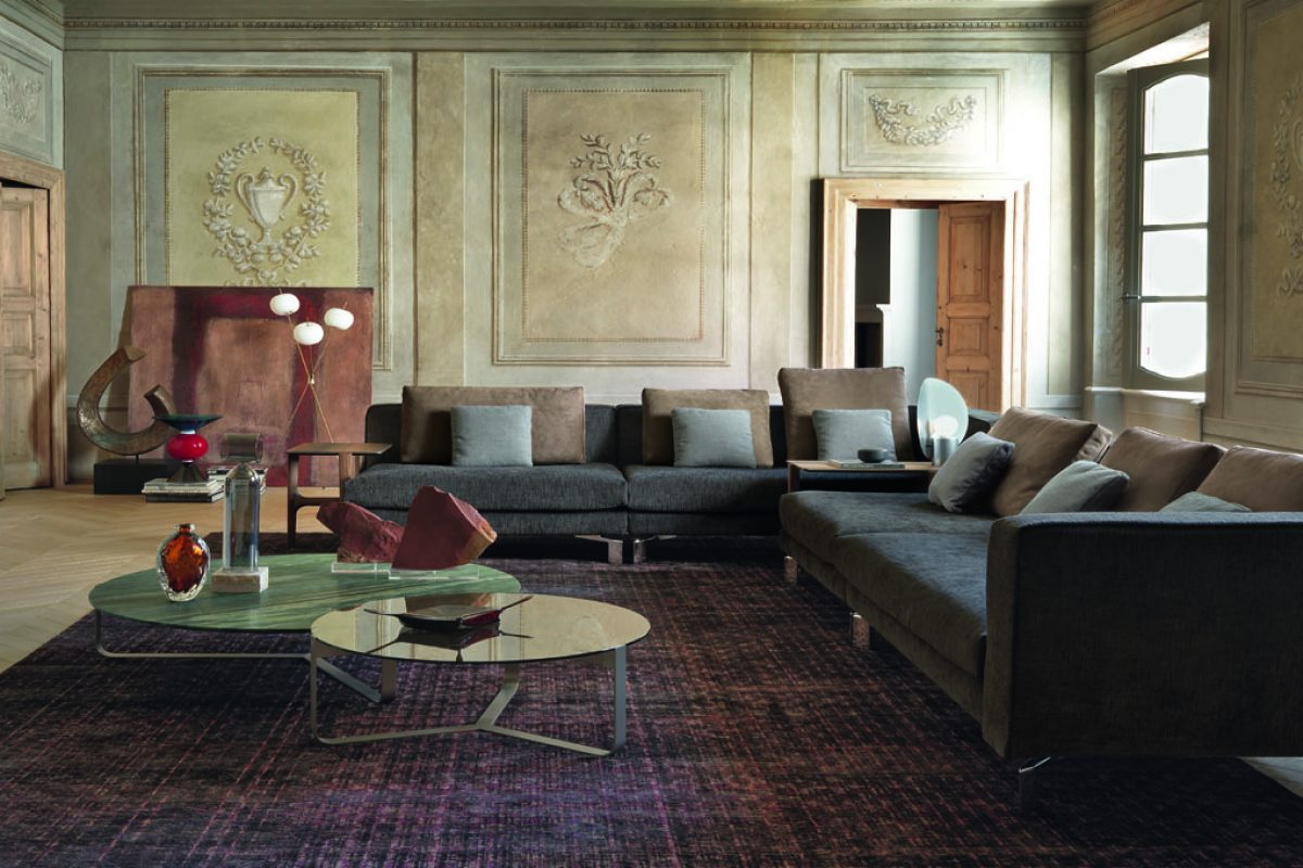 TAY, the new FLOU collection designed by Massimo Castagna: a soft combination of comfort and nature