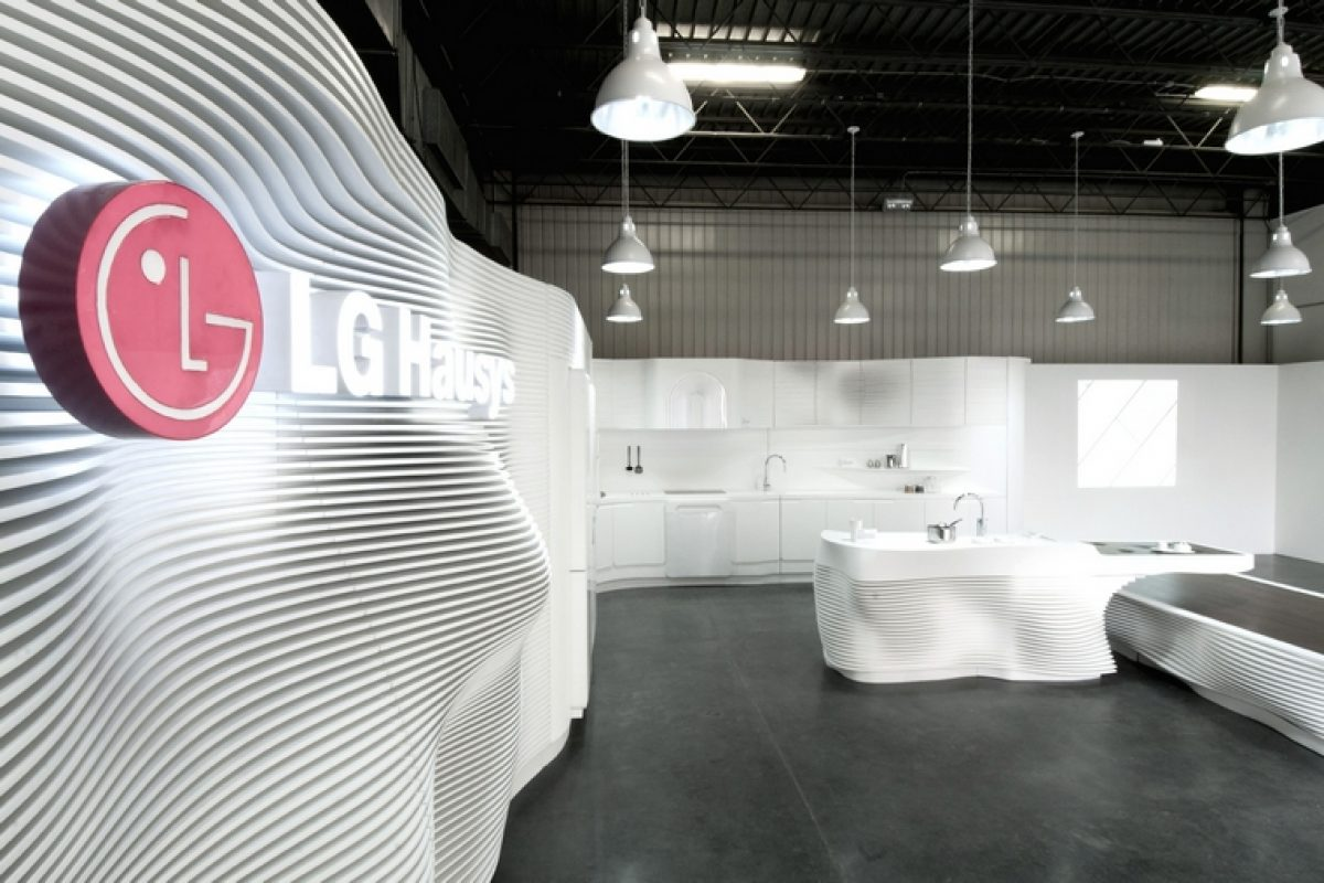 i29 designed the most urban Showroom of Samsonite in Amsterdam