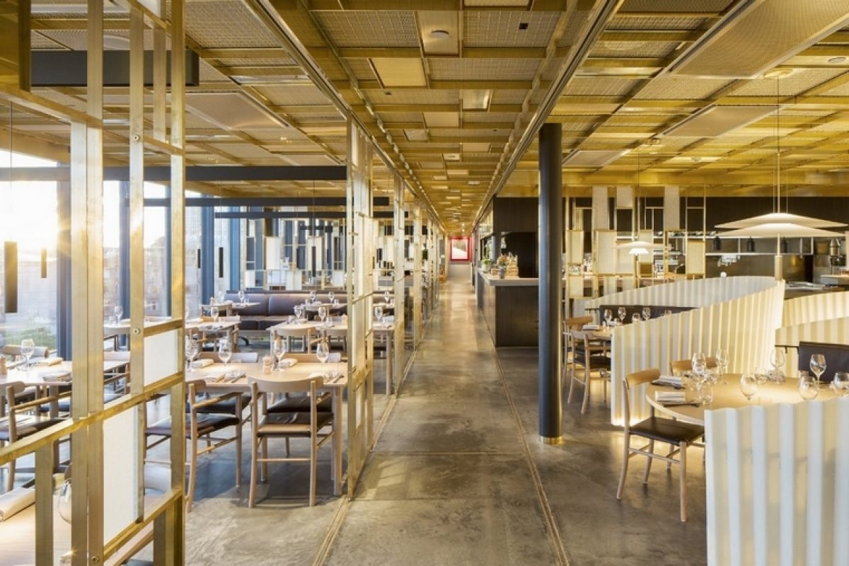 Awarded TAK Restaurant in Stockholm designed by Wingårdhs. A mix between Japanese and Nordic styles