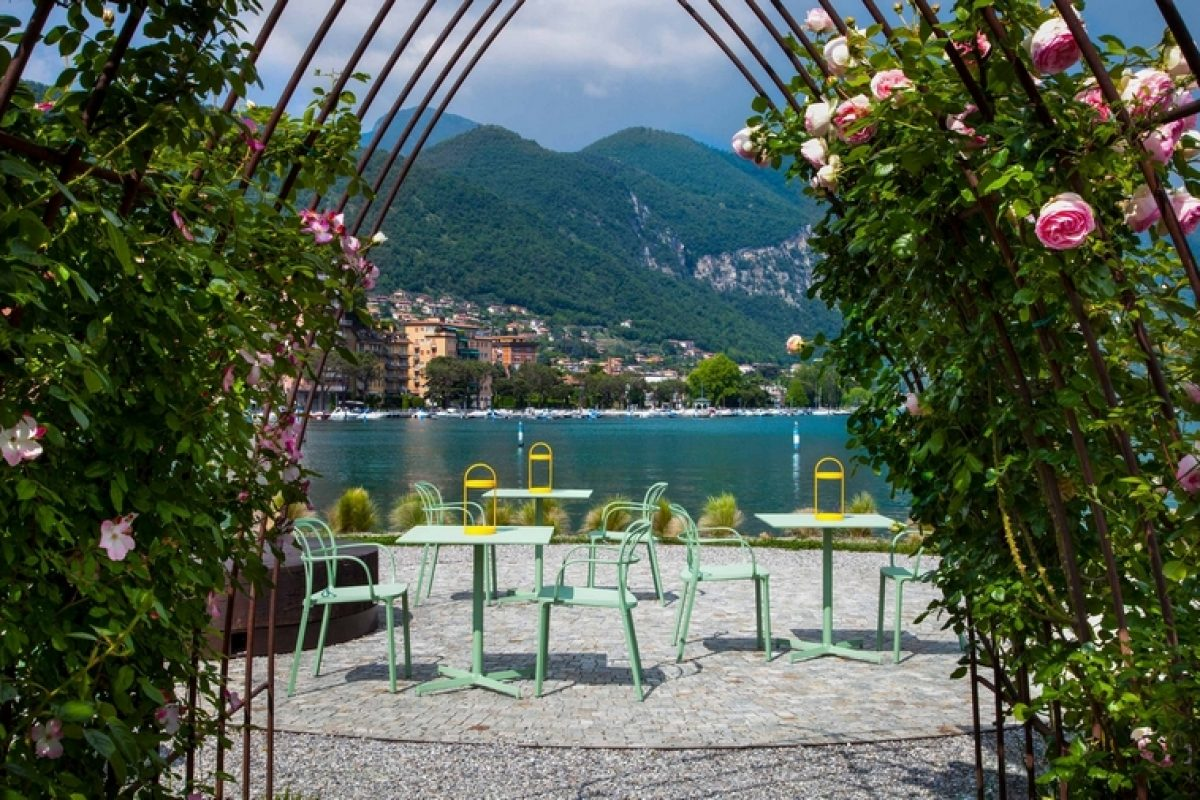 Colour, style and elegance for Pedrali's outdoor collections