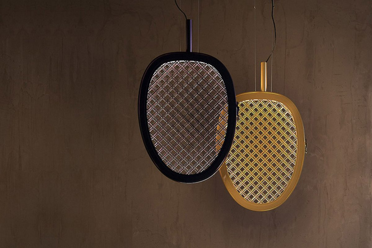 Luca De Bona and Darío De Meo create Periplo for Karman. A lamp that highlights our emotions