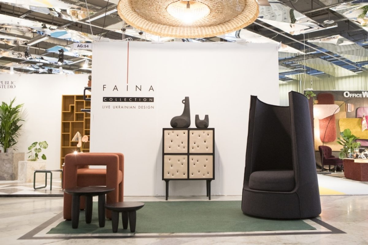 The new FAINA collection by Yakusha Design Studio at the Stockholm Furniture & Light Fair: Ethnic minimalism, simplicity and modernity