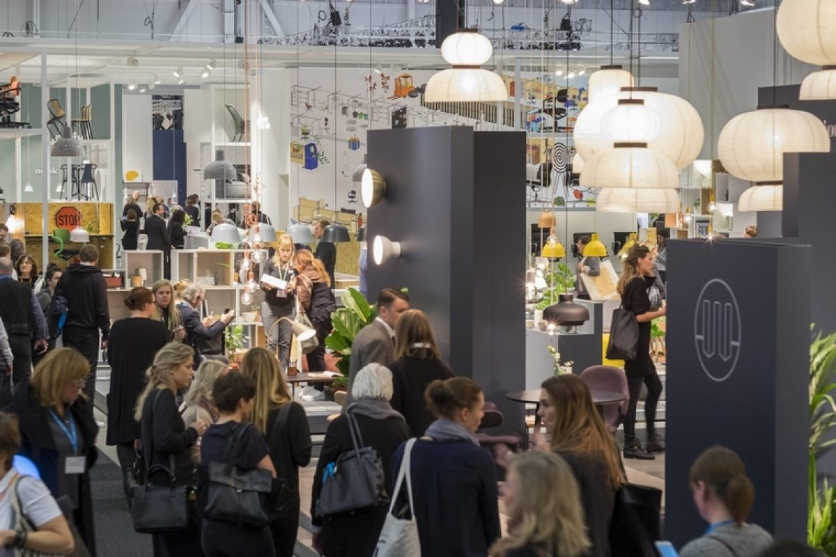 Stockholm Furniture & Light Fair: the fair that never stops growing reaches this year a third of foreign visitors