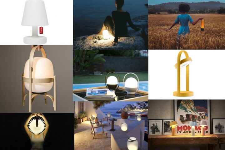 Portable lamps selection: They are wireless, rechargeable, with LEDs and USB port… that's trendy