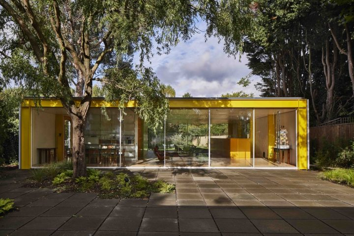 Gumuchdjian Architects studio modernizes the Richard Rogers House in Wimbledon and for that they rely on the HI-MACS® technology