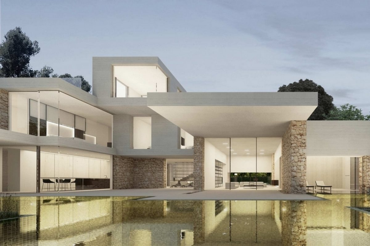 Ramón Esteve plays with proportions and creates Santa Apolonia, a house with multiple perspectives