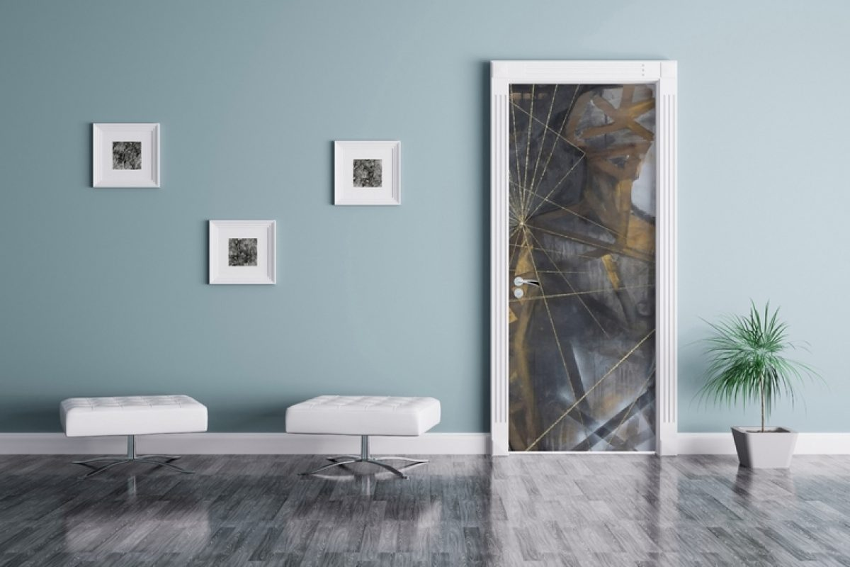 Dress up your doors with style and originality with the new DOORPAPER wallpaper collection by Instabilelab
