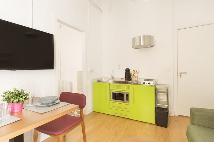 Stengel Ibérica mini-kitchens appear in the tourist apartments: Reduced space, maximum benefit!