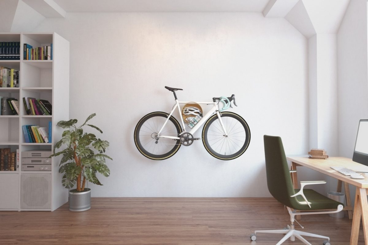 The bike are the new element in interior design. Mooose designed Cova, an exhibitor system for bicycle and design lovers