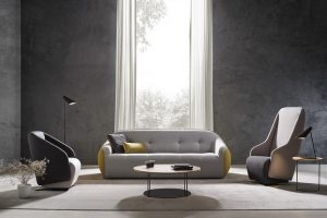 DSIGNIO designs the new LILY collection for Beltà. A comfortable and original armchair