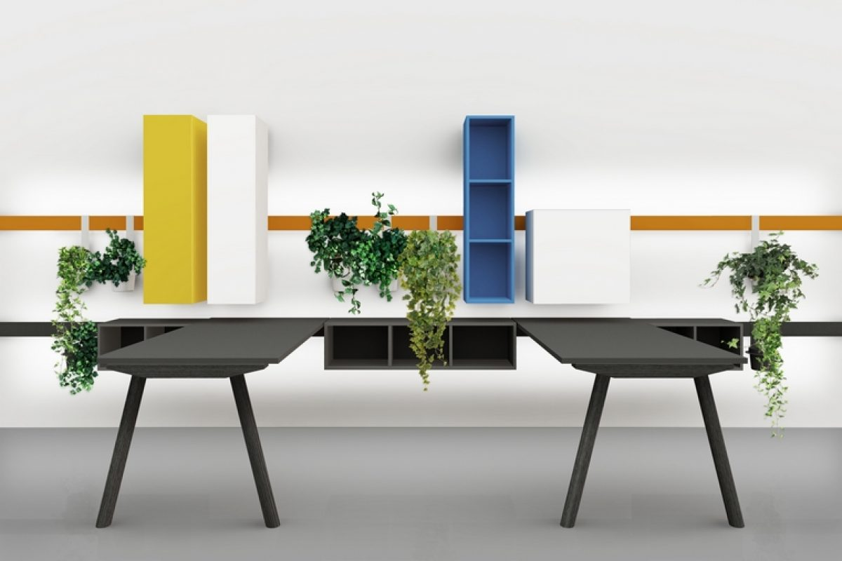 Milan Design Week 2018 Preview: DVO presents its novelties designed by Enzo Berti. Functional and versatile design products for workplaces