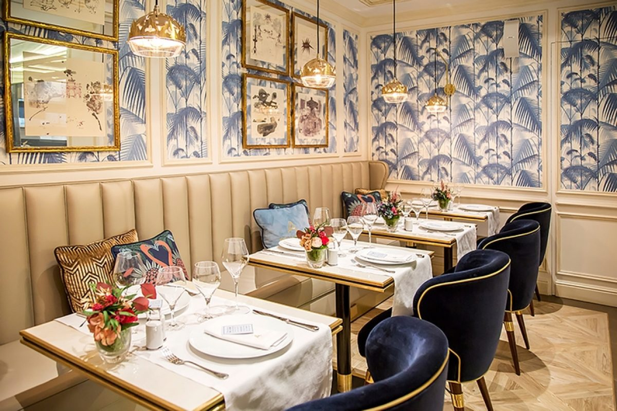 Case Studies: Orac Decor® imitates the French chic in the Brasserie Antoinette of Madrid with its elegant moldings