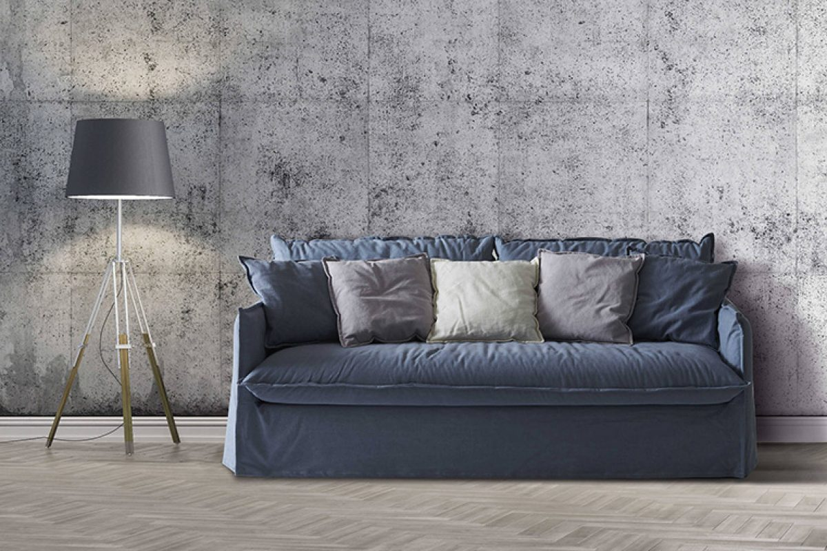 Salone Del Mobile.Milano 2018 Preview: Sofa and sofa bed Clarke XL by Milano Bedding. Extra of comfort, design and well-being