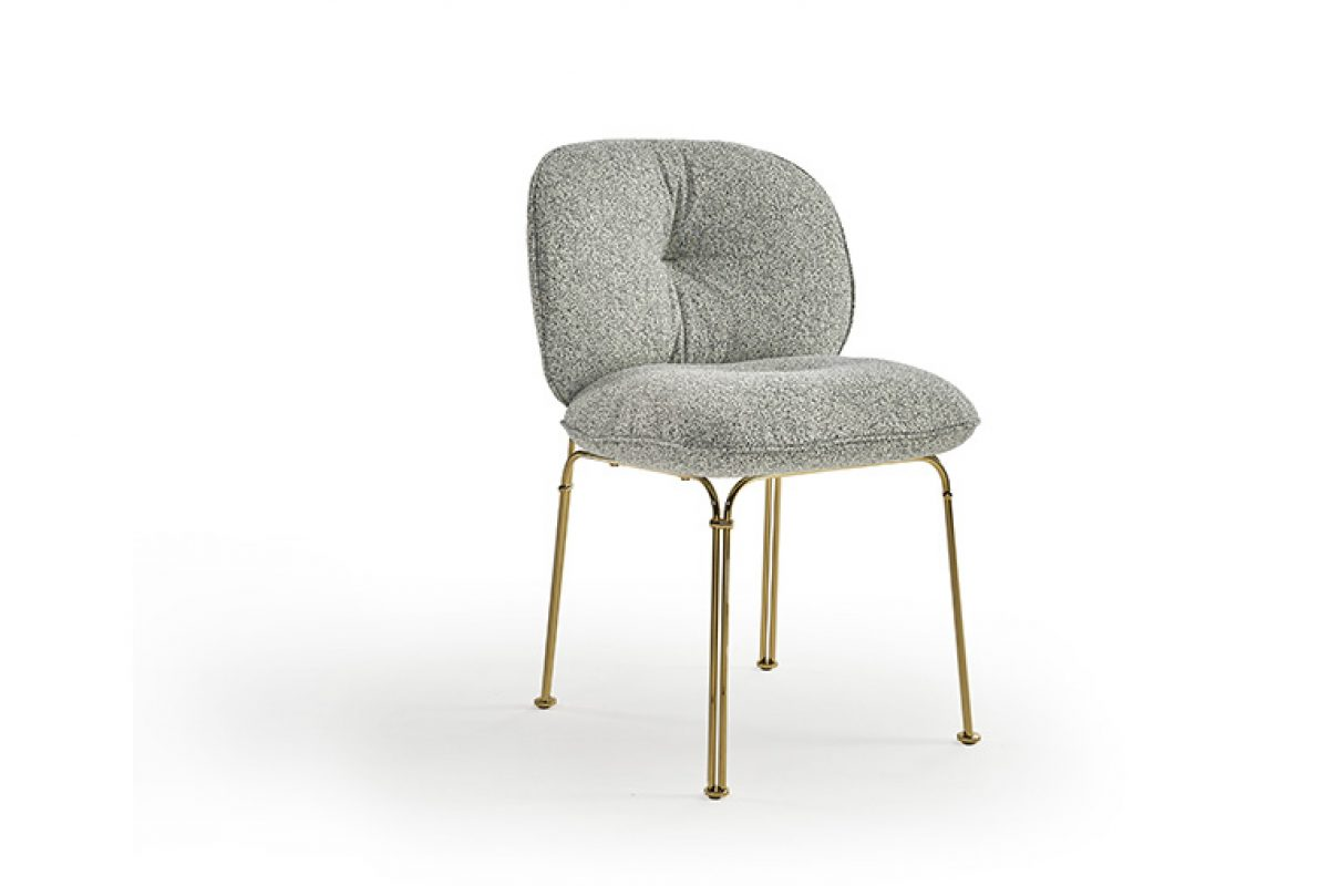 Mullit chair by Yonoh for Sancal. A cushion with legs