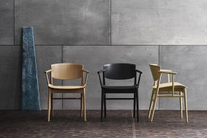 The most anticipated collaboration: nendo and Fritz Hansen. A merge of Danish and Japanese aesthetics and purity create N01 Chair