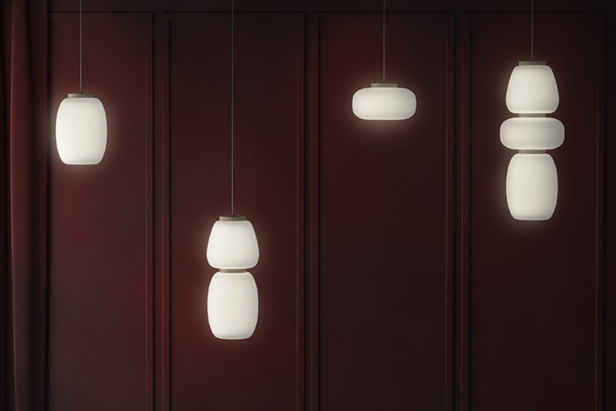 Japanese Akari lamps inspire the new Stone Designs collection for B.lux