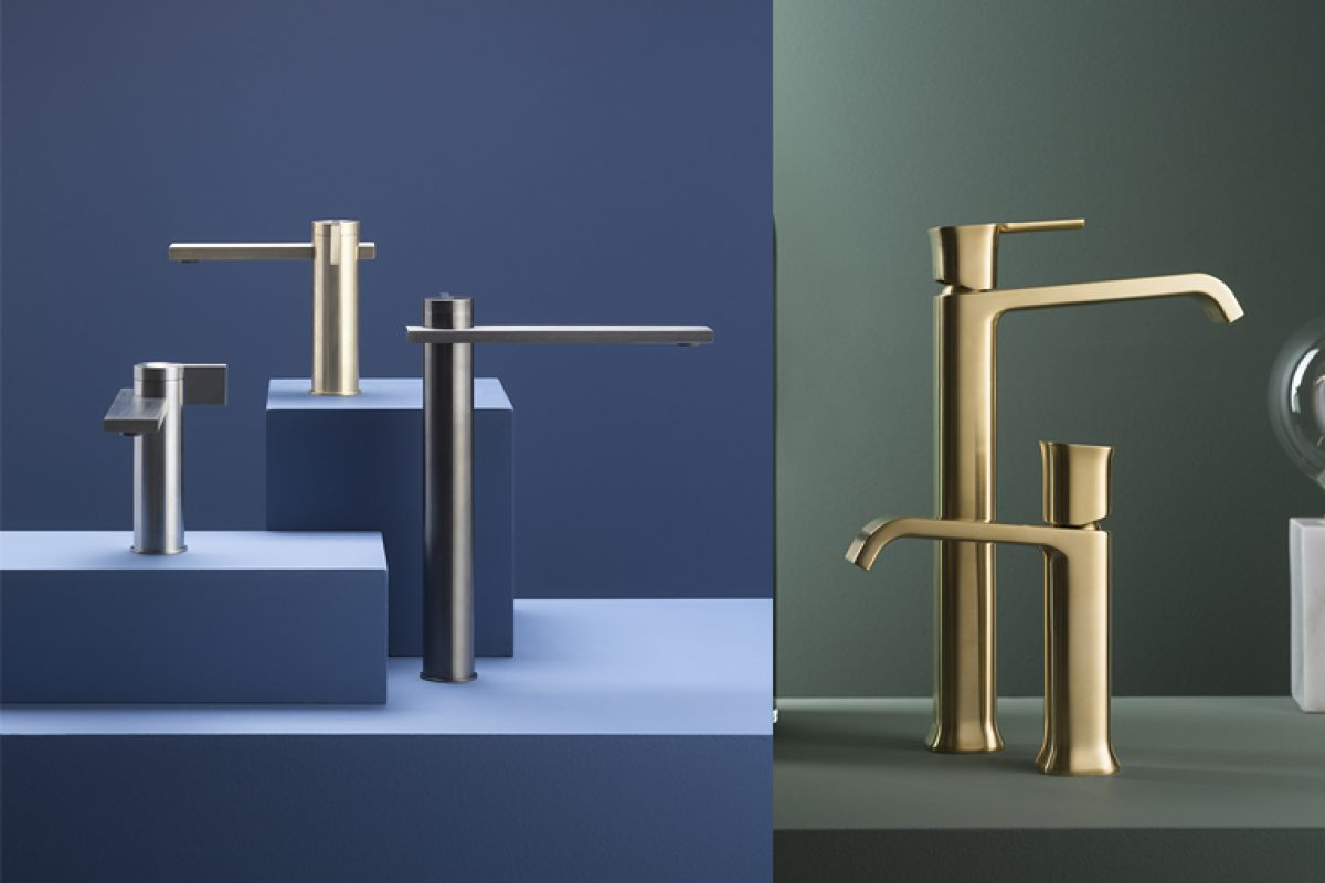 Salone del Mobile.Milano Preview: Ritmonio presents DOT316 and TAORMINA new series. Simplicity and elegance for the bathroom of the future