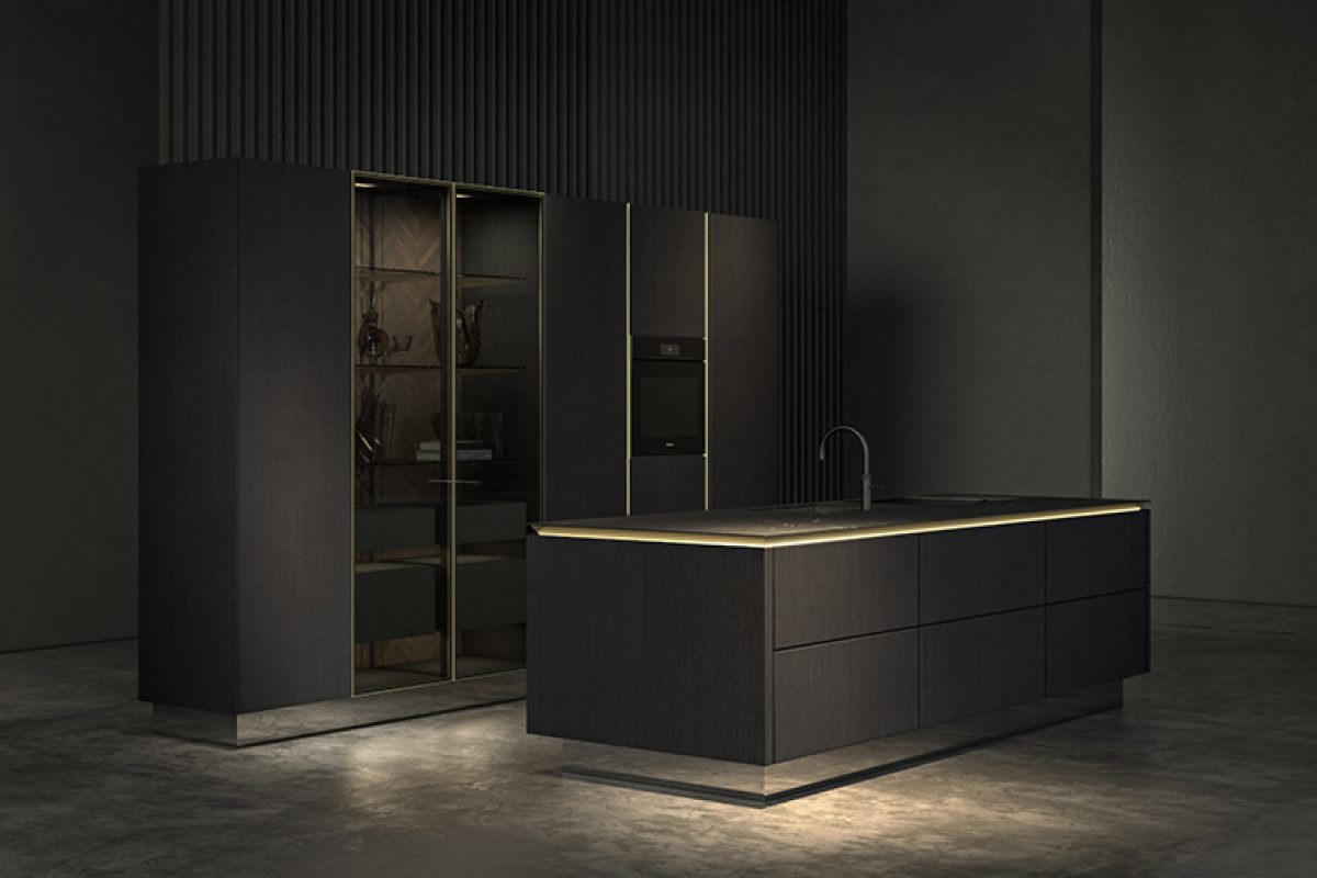 SieMatic presents a new purist design concept for the kitchen, the perfection of the reduction