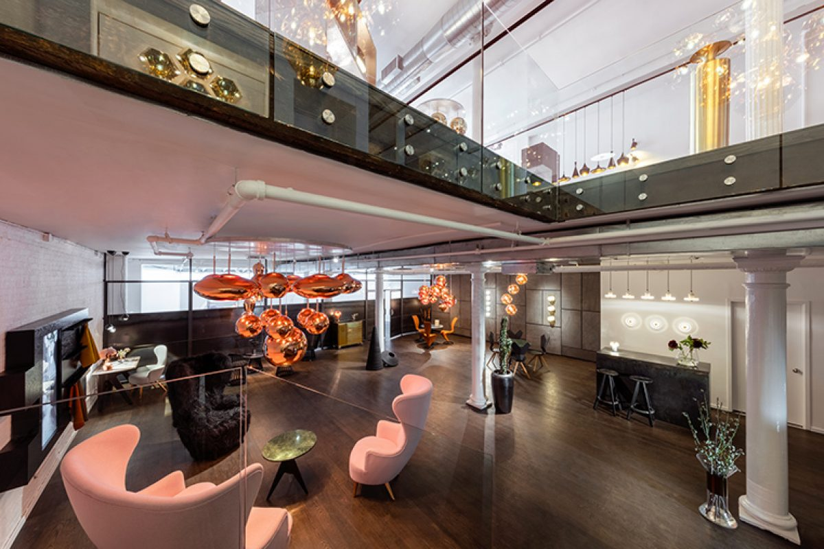 Tom Dixon opens in New York. Discover the new design sanctuary in the heart of Soho