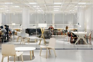 deardesign reformulates the way to connect and learn between people at the interior design project of UPF Barcelona School of Management
