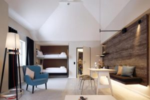 Dorint Hotel & Sport Resort (Winterber) counted on LA LITERAL Bunk beds series by Sellex to furnish its bedrooms