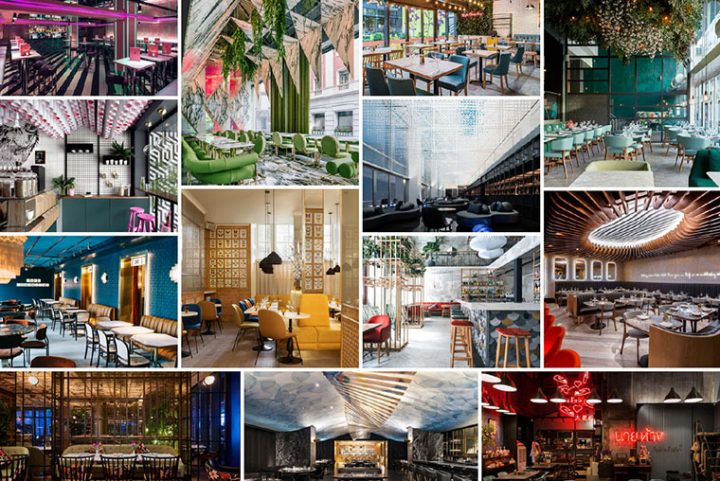 Shortlist announced for awards to the best world designed Restaurants and Bars of 2017/2018