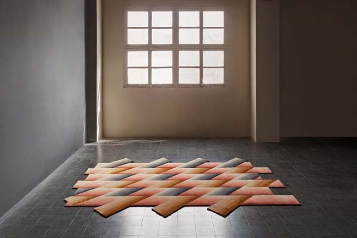 The Mirage rug designed by Patricia Urquiola for GAN triumphs in the United States and wins a NYCxDESIGN Award 2018
