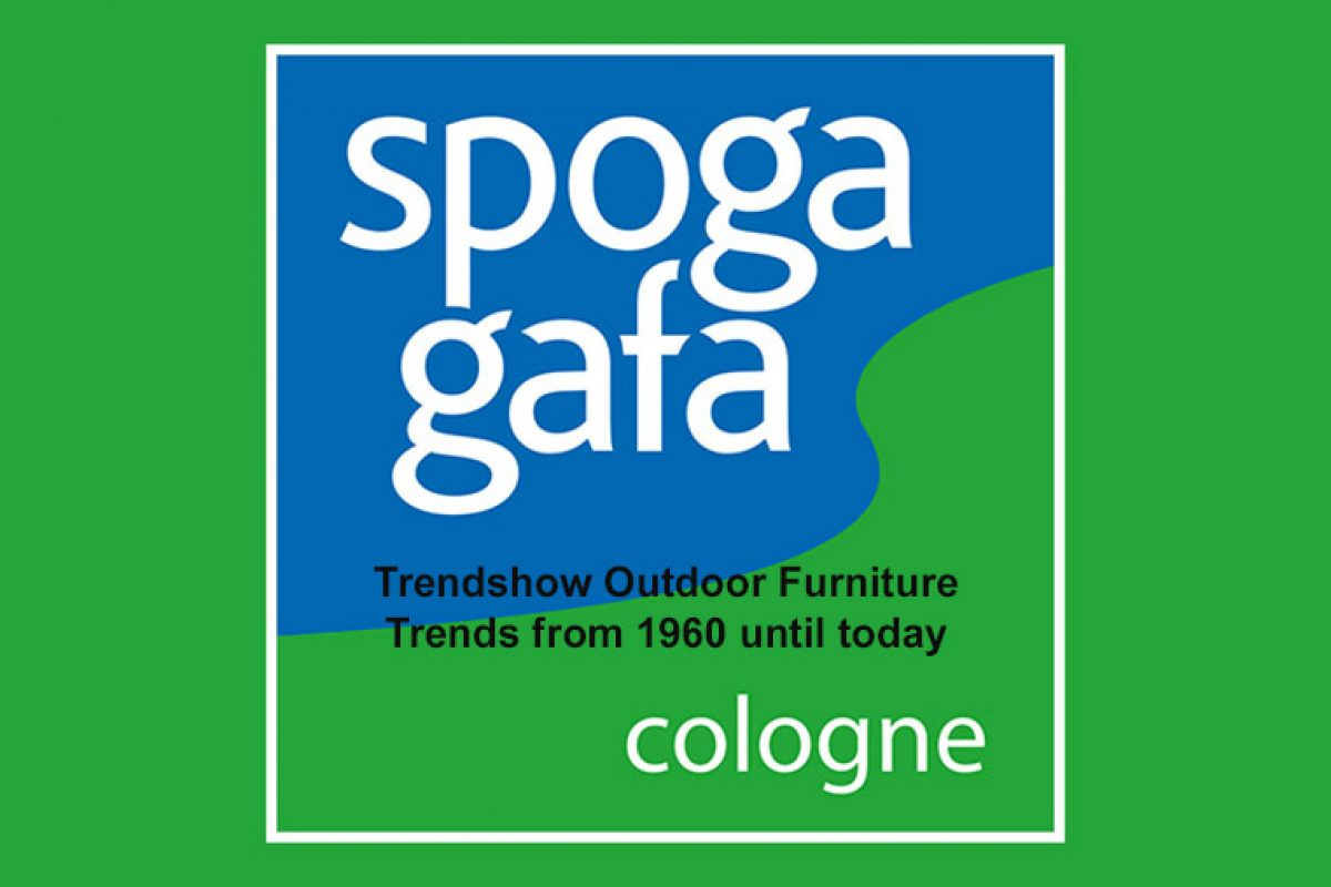 Outdoor Furniture Trend Show & Icons of Outdoor Furniture: A look back into the future at spoga+ gafa 2018