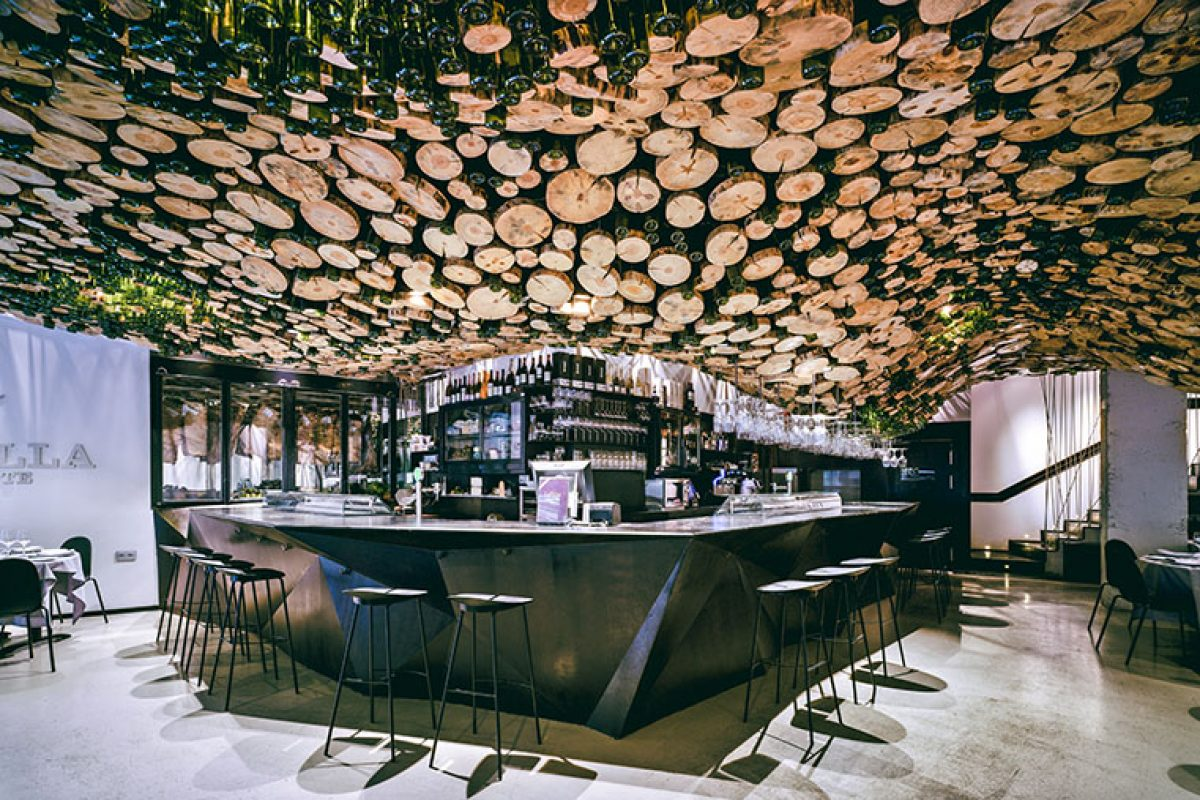 La Pilar Asador, an interior architecture project by Pulpas studio, finalist at the Restaurant & Bar Design Awards 2018