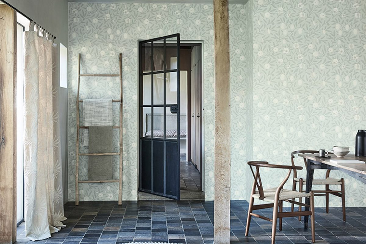 The latest by Morris & Co. Weaves, fabrics and wallpaper that evoke the Icelandic landscape and culture