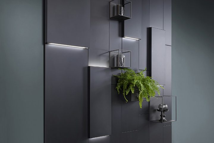 Studio 28 designed Caddy for Ronda Design. Freely accessorised wall for any room in the home