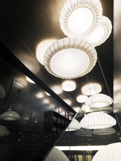Axo Light Decorates And Lights The New W O K Restaurant