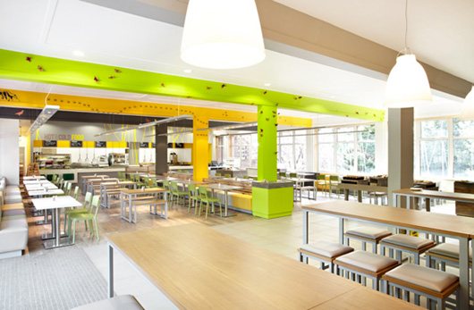Grasslands restaurant at edinburgh zoo designed by design
