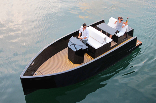 New Hidden Outboard Motor Boat  Designed And Produced In
