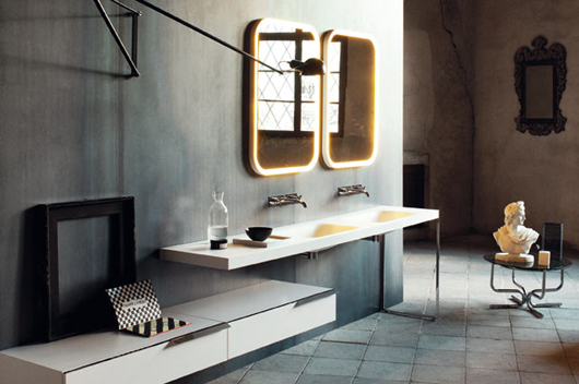 Bath Furniture Italian Company Agape Opens New Showroom At Design Amazing Bathroom Design Showroom