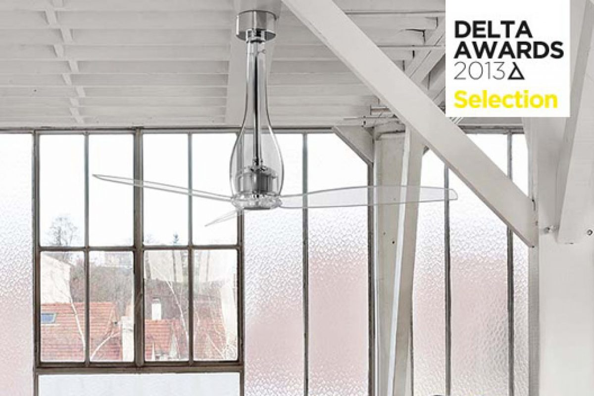 ETERFAN, the sustainable fan designed by Faro Barcelona, finalist of the DELTA AWARDS 2013