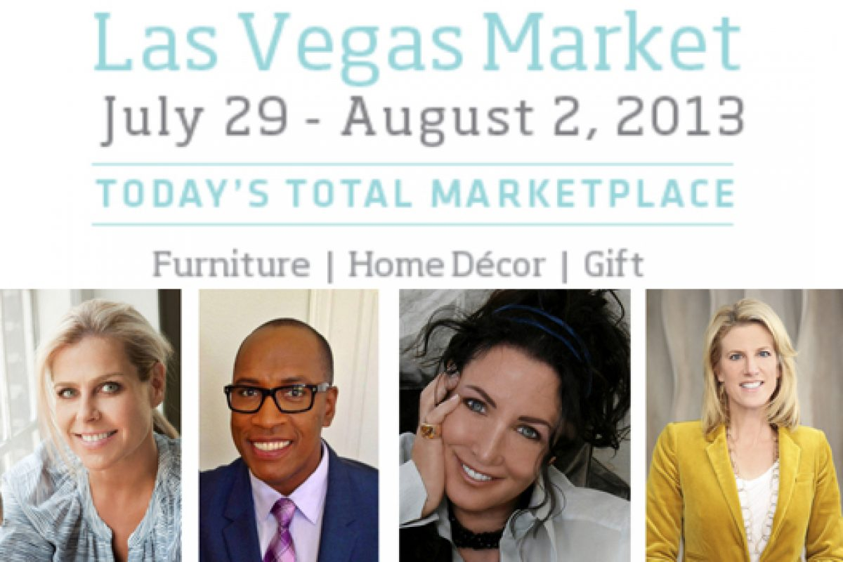 Retailers and Designers Will Get AHEAD OF THE CURVE at Summer Las Vegas Market with Signature Panel of Top Tastemakers and Trends