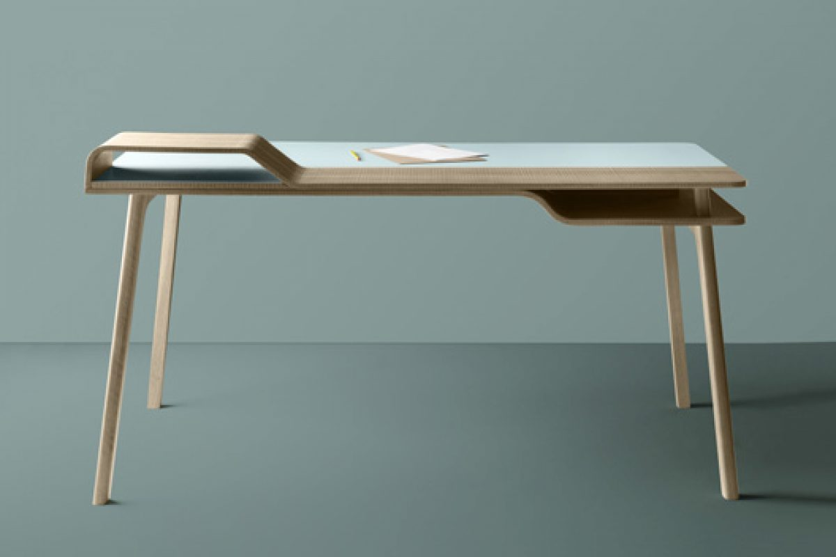 New Belharra desk, designed by Jean Louis Iratzoki for Treku design company