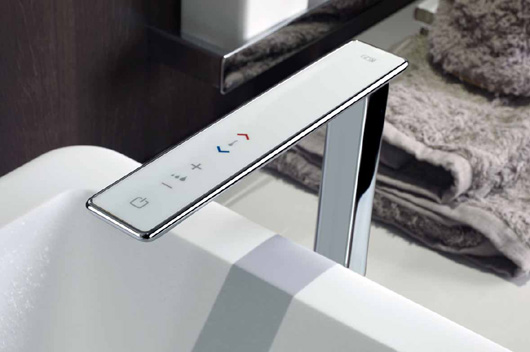 Ispa Collection By Gessi Faucets With Digital Technology