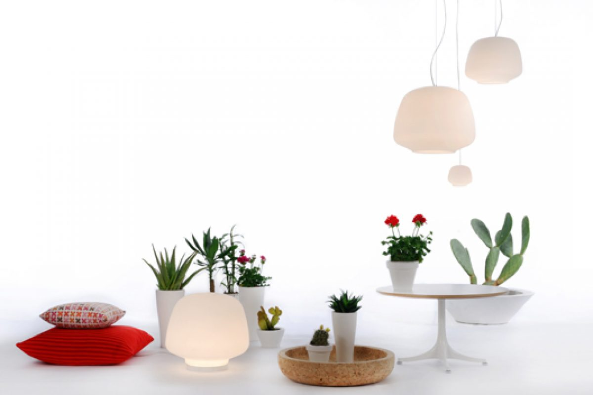 Iaara lamp designed by Hugo Tejada. A Fambuena collection inspired by the femininity