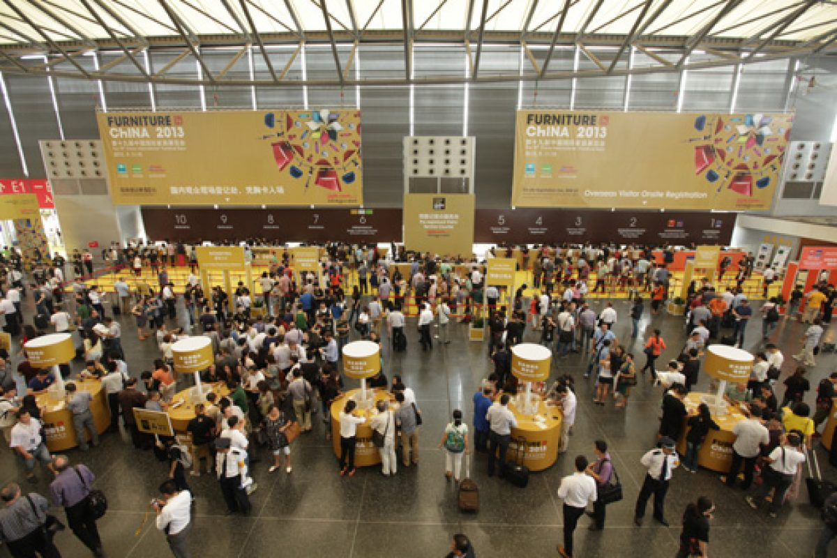 Furniture China 2013 achieved a new height of visitor arrivals