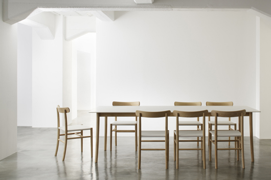 Lightwood, Elegantly Designed In Corian® And Wood By Jasper Morrison For  Japanese Company Maruni