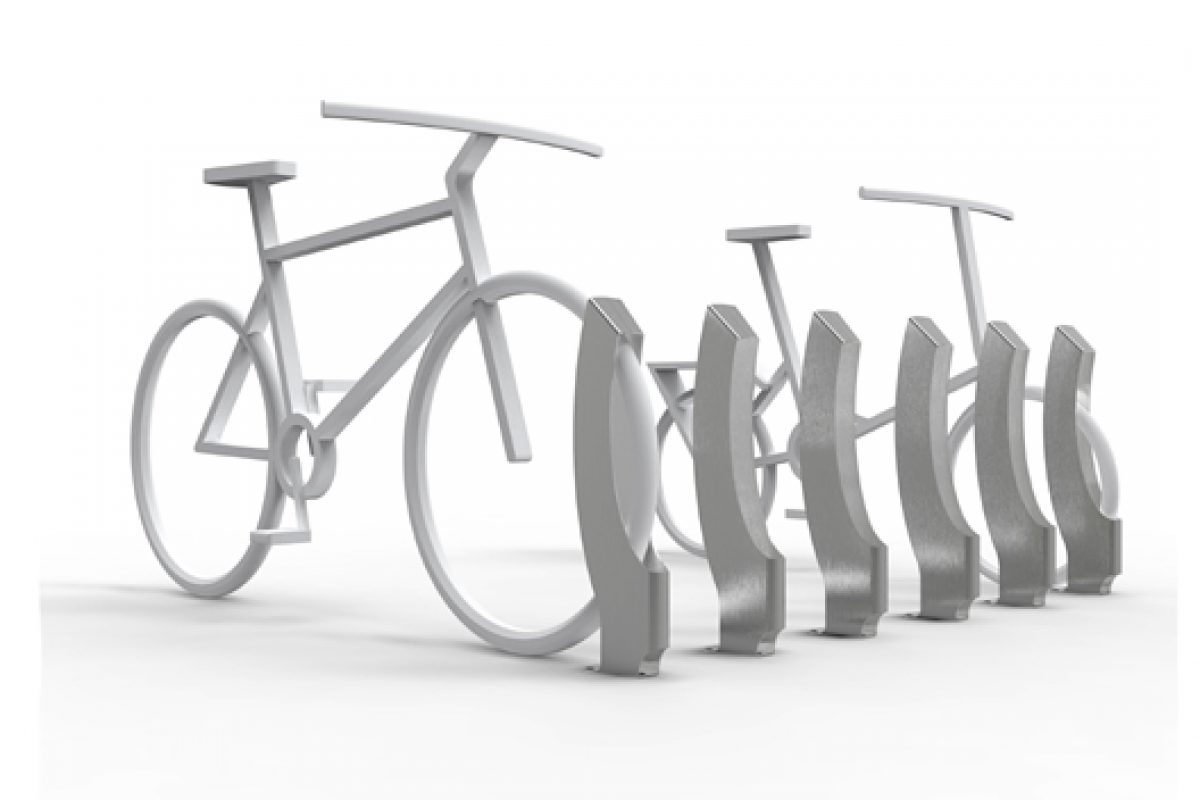 Alegre Industrial Studio designs two bike stands for Japanese company Katzden Architec Inc.