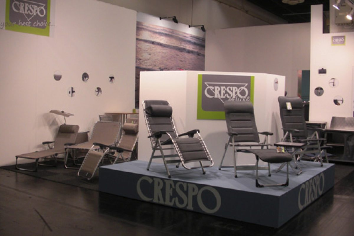 The Spanish company of camping and garden furniture, Crespo, triumphs at Spoga-Gafa show in Cologne